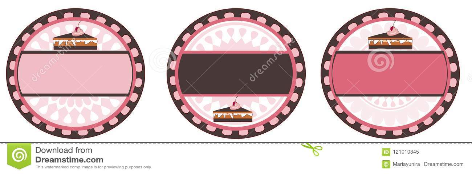 Cake round logo