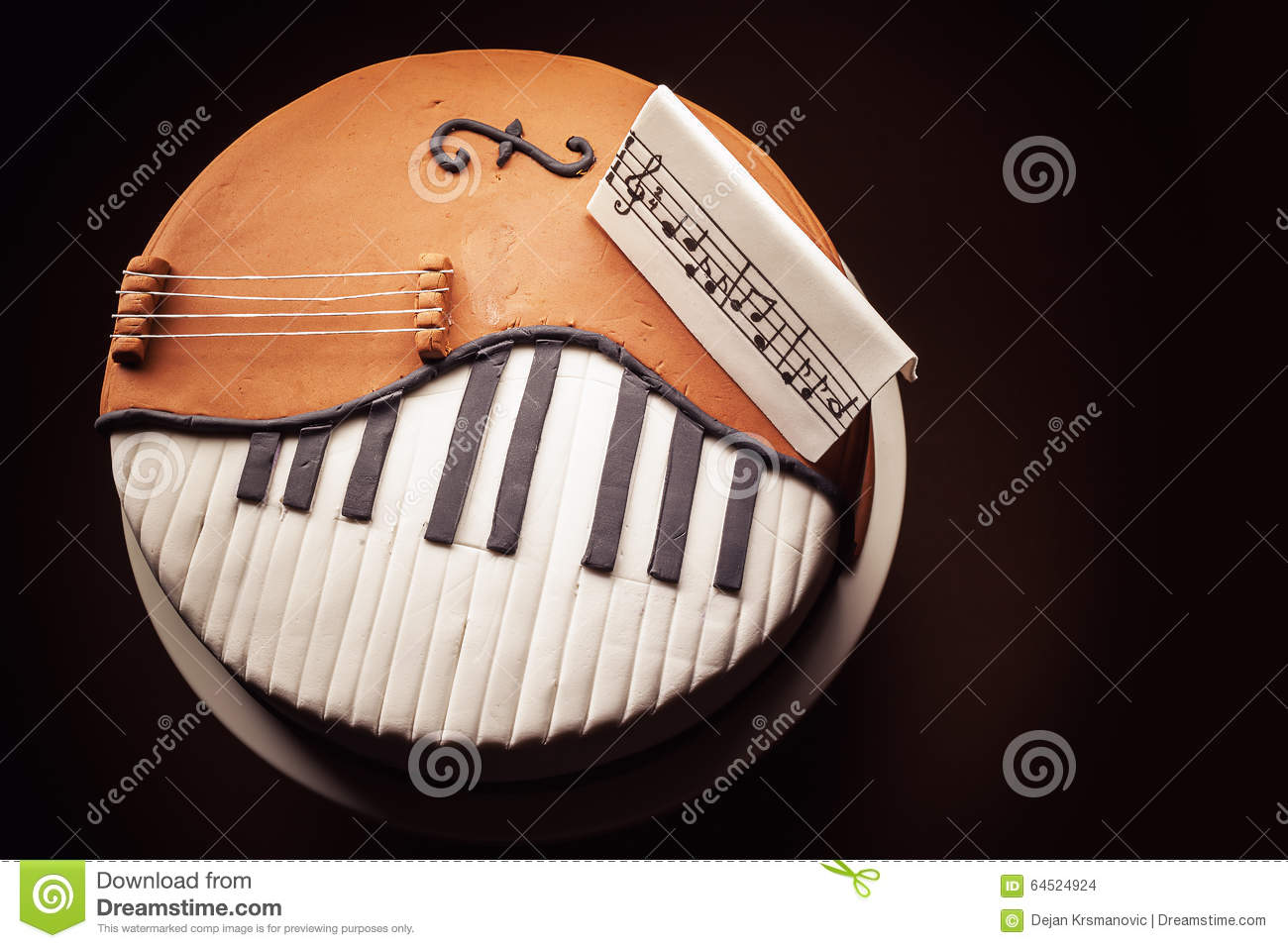 Jazz Birthday Cake Images