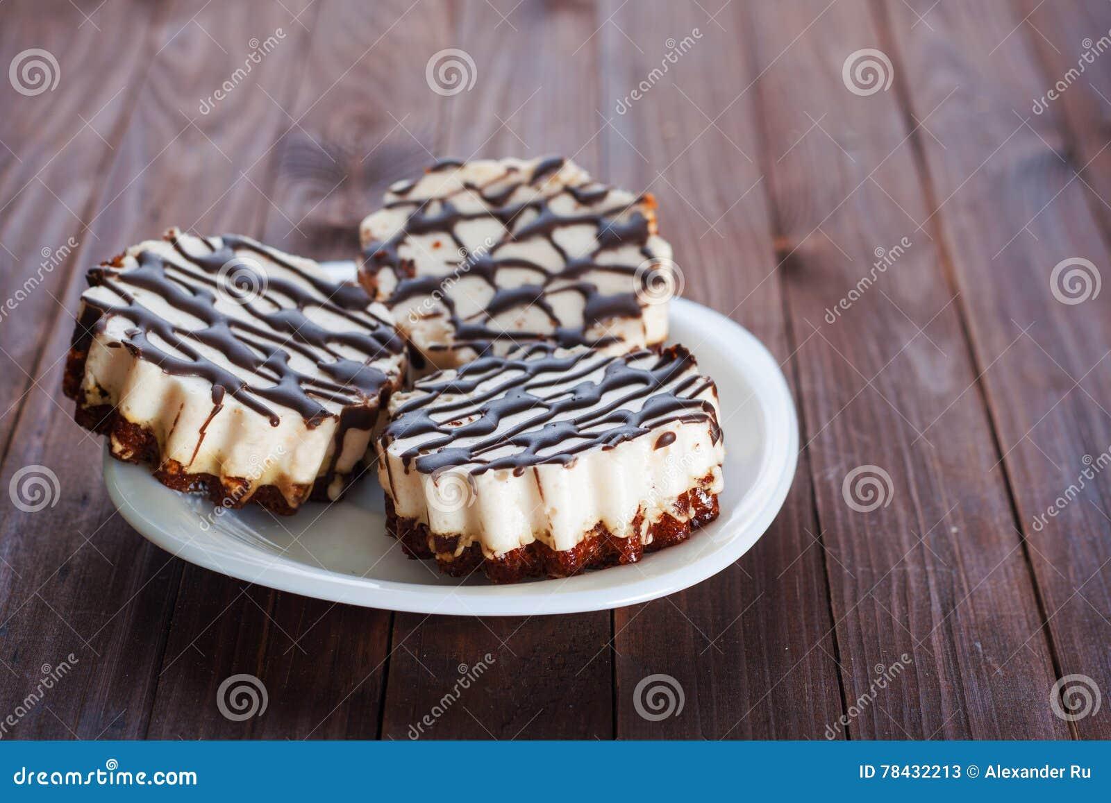 Dark Chocolate Souffle Cake