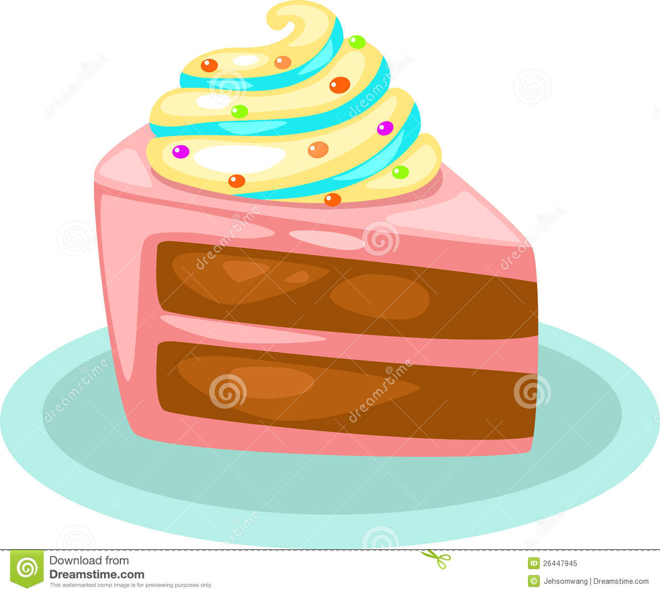 Royalty Free Stock Photo Cake Vector Image26447945 on orange juice pitcher