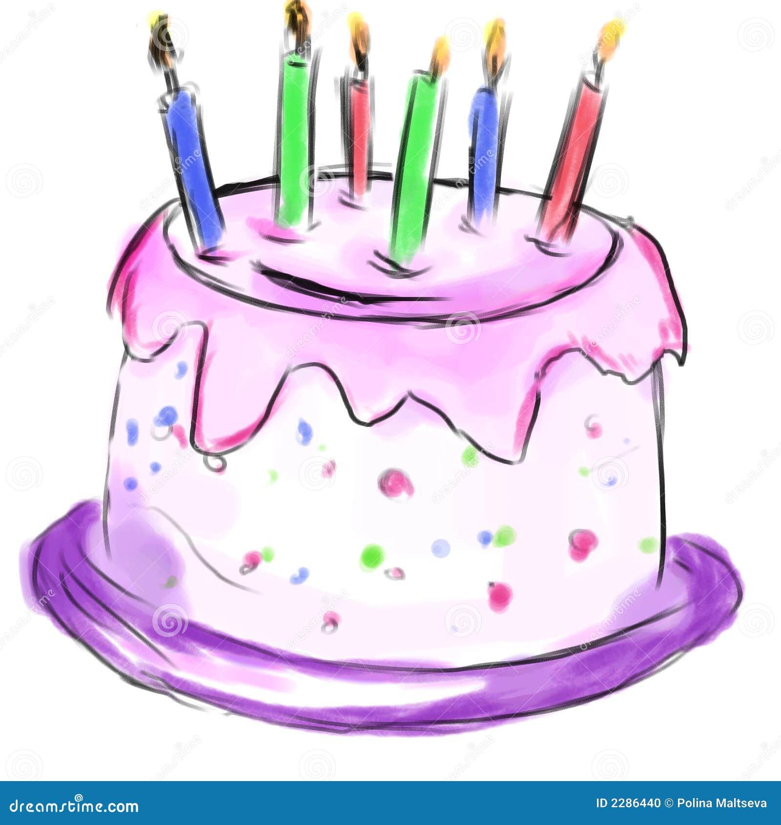 Cake voor verjaardag