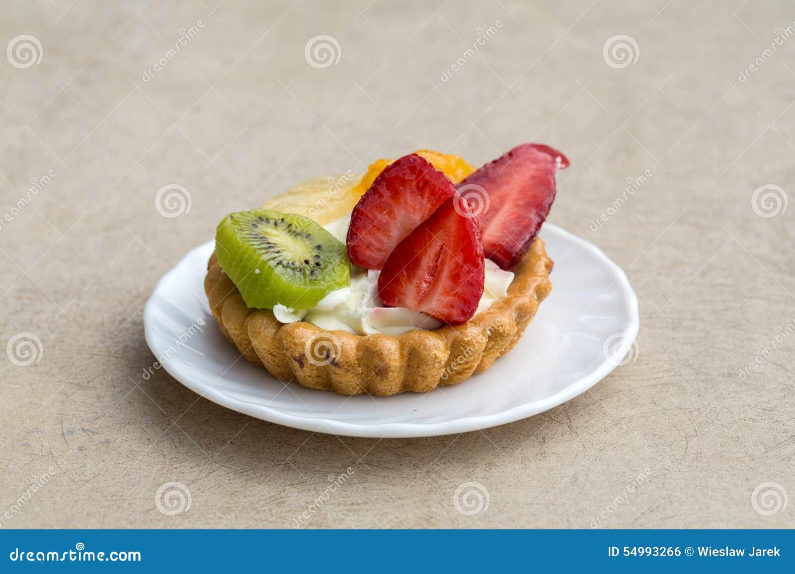Caken bär fruktt sött