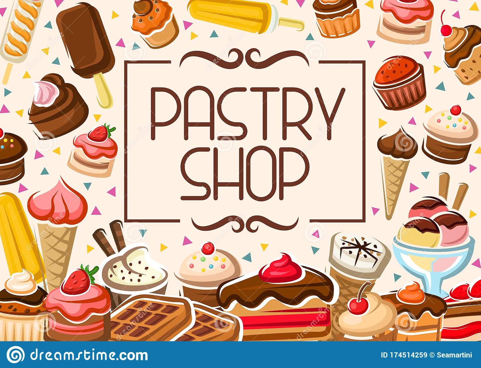Pastry Patisserie Stock Illustrations 2 471 Pastry Patisserie Stock Illustrations Vectors Clipart Dreamstime