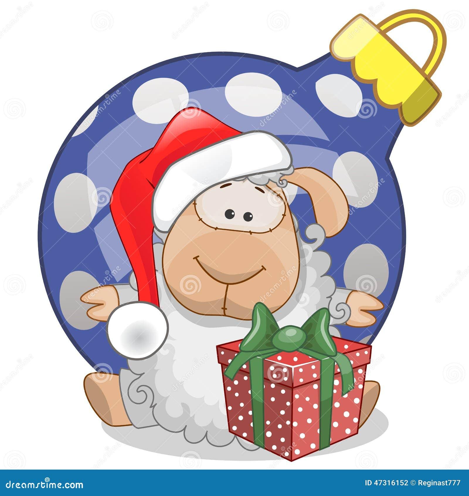 Cakle w Santa kapeluszu