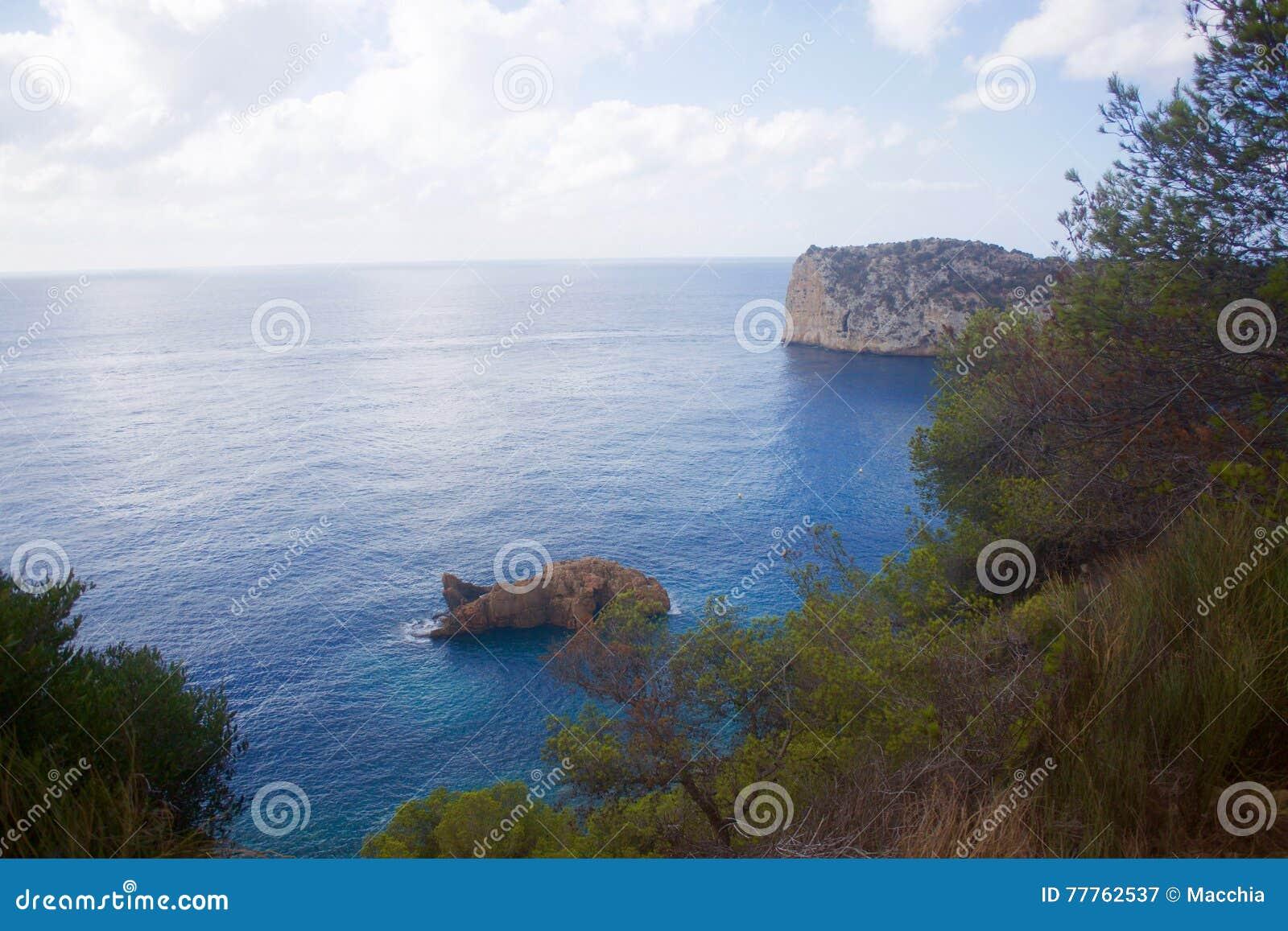 Cala de Ambolo - Javea -西班牙