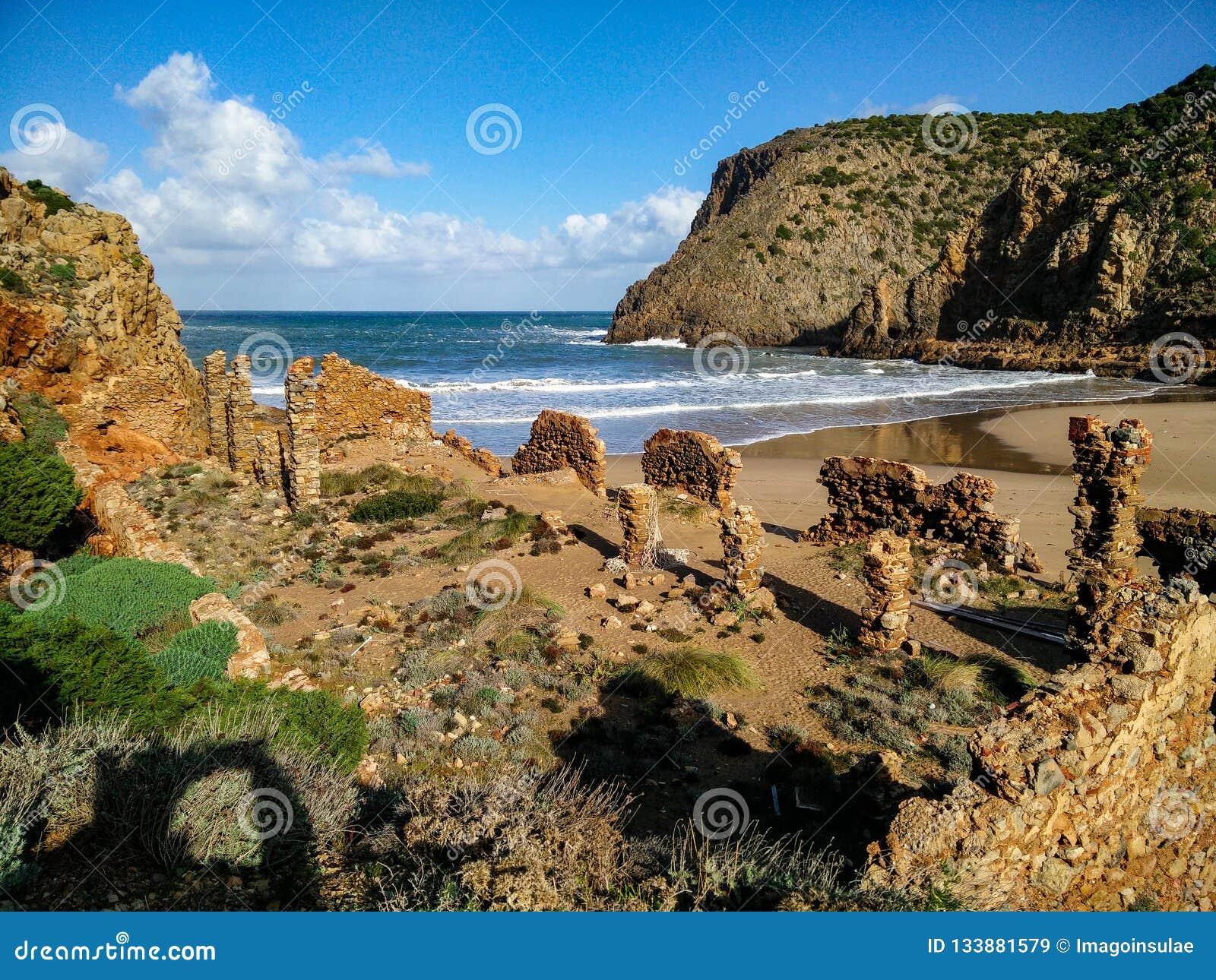 Sardinia. Coastal landscapes