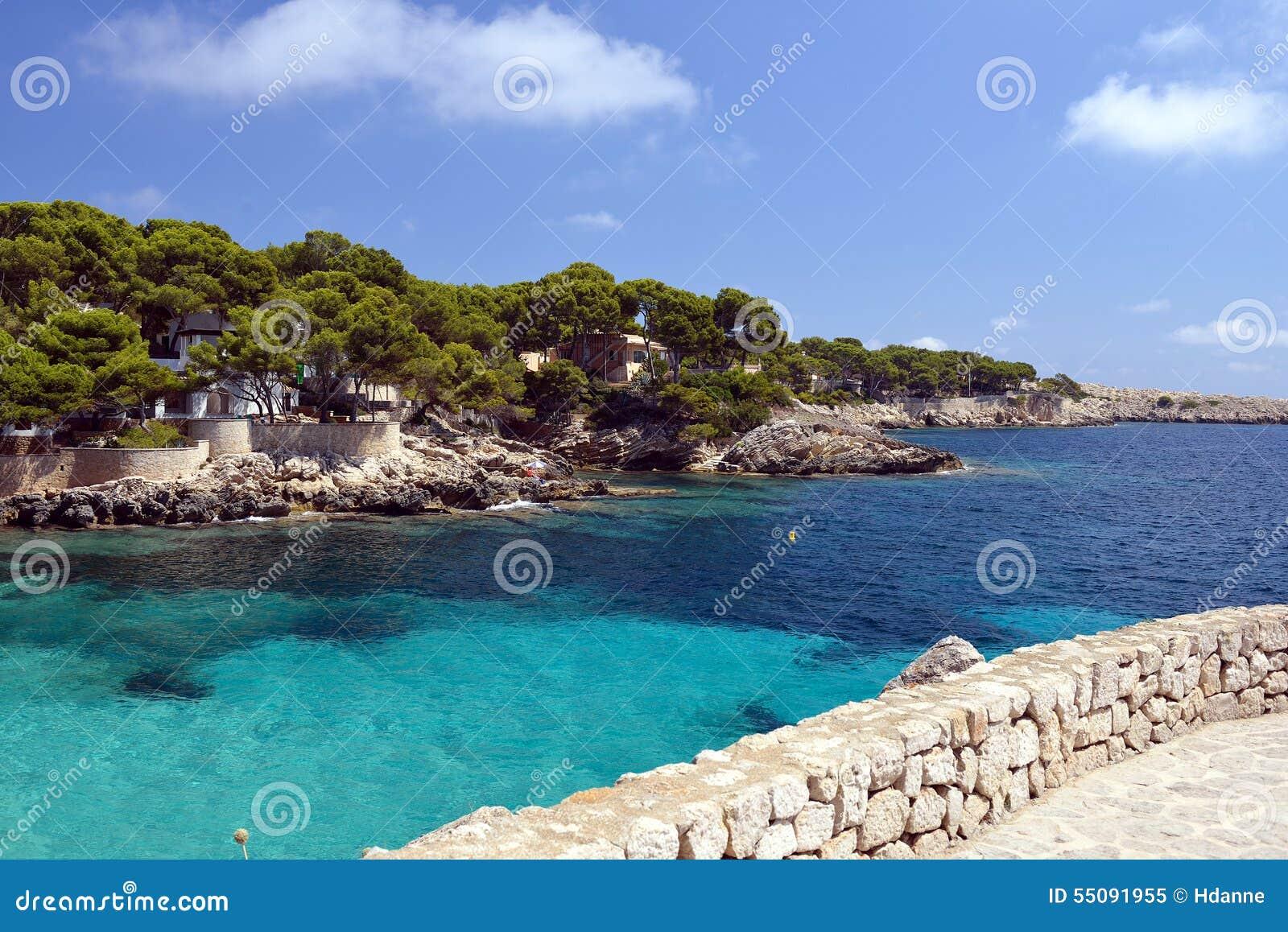 Cala Gat Beach - Mallorca Stock Photo - Image: 55091955