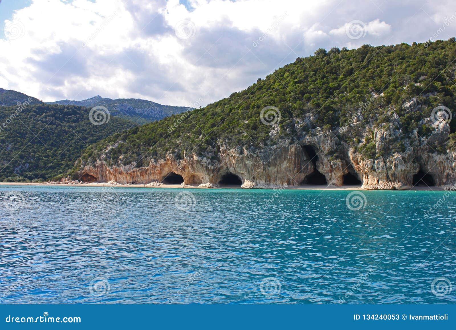 Cala Luna plaża na Sardinia