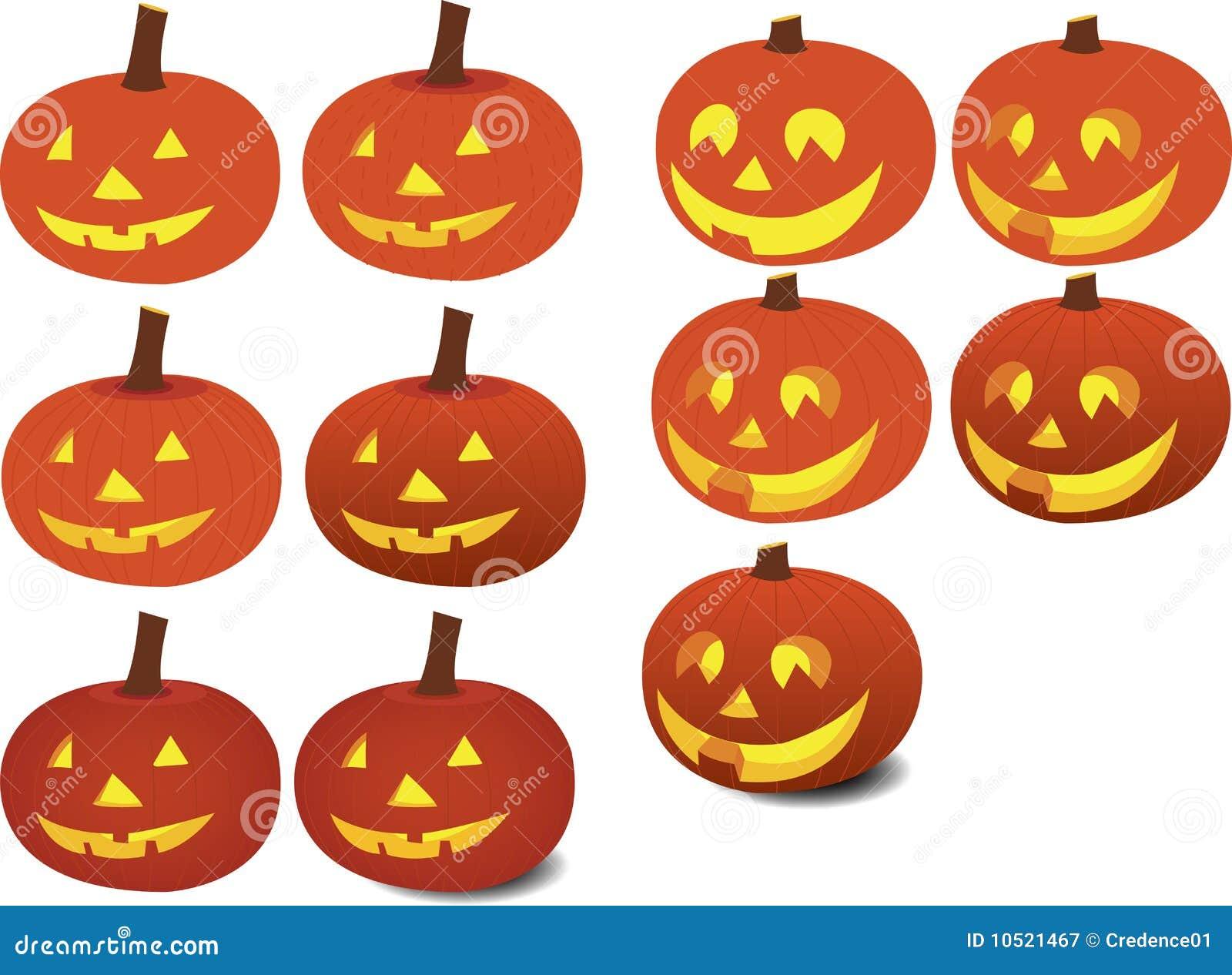 Calabazas felices fotograf a de archivo libre de regal as - Disenos de calabazas de halloween ...