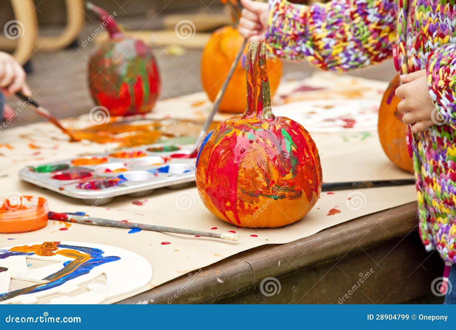 Calabazas pintadas - Calabazas de halloween pintadas ...