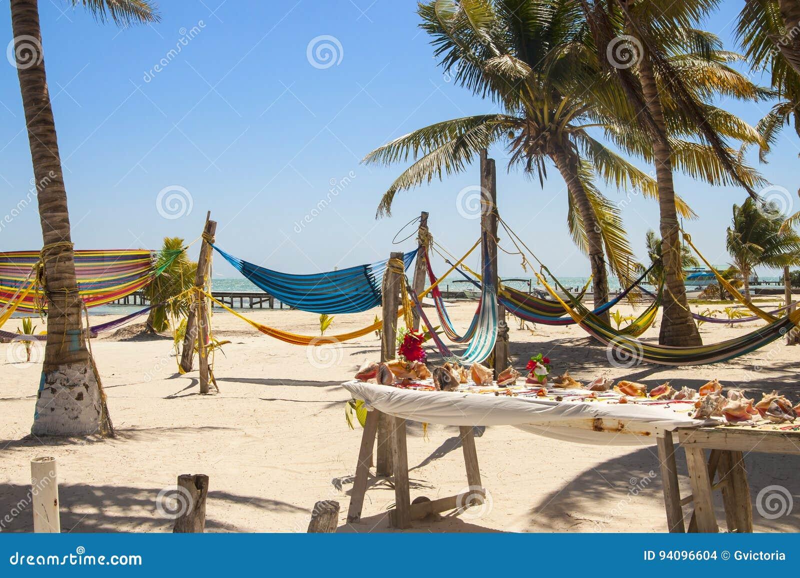 Calafate de Caye, Belice en la barrera de arrecifes