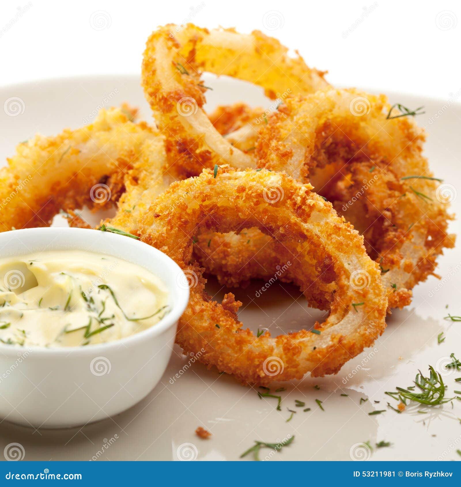 Calamari Rings Stock Photo - Image: 53211981