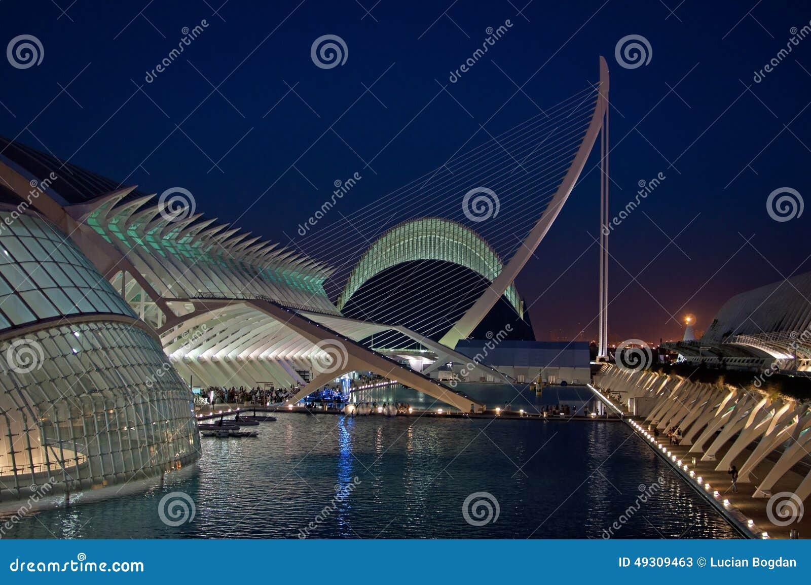 Calatrava Masterpieces in Valencia, Spain