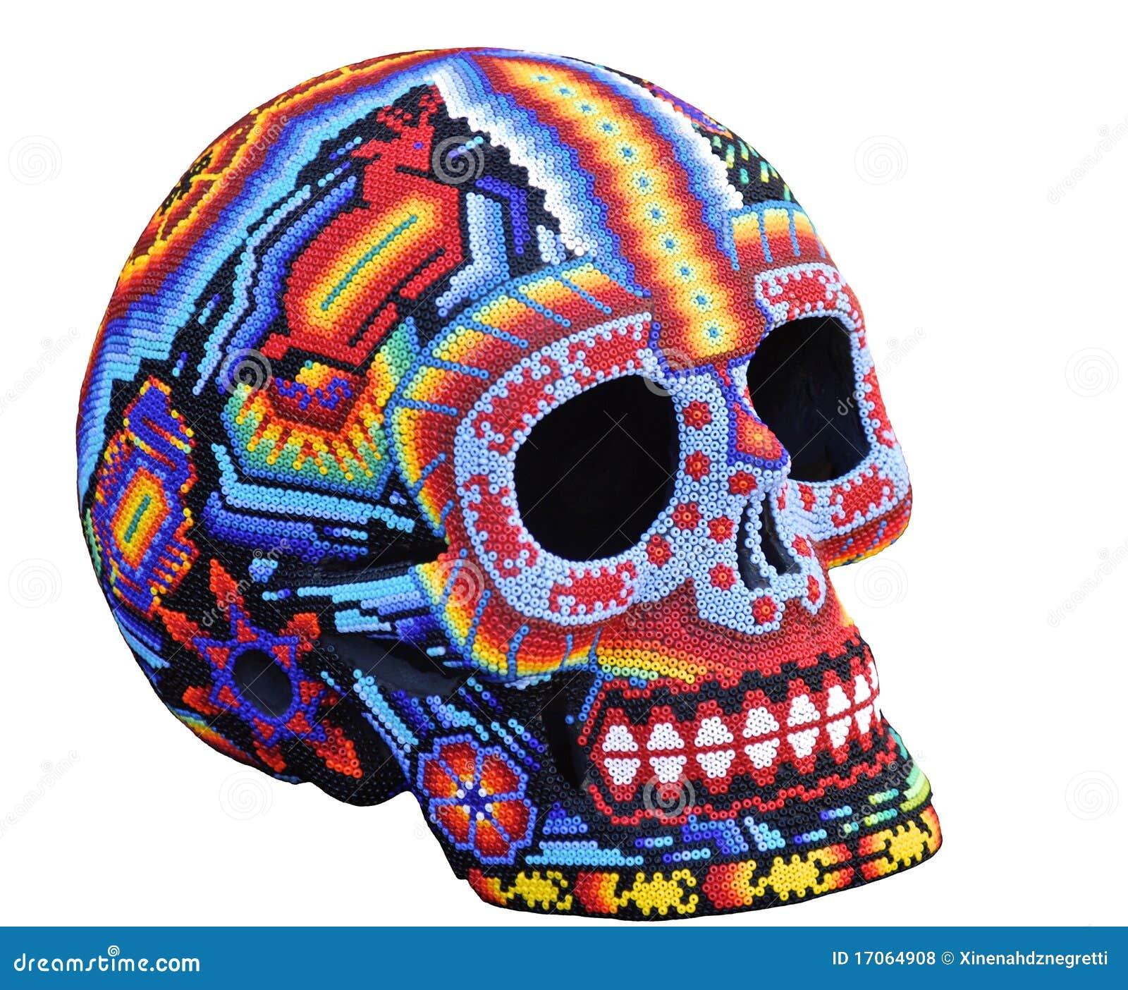 Calavera Mexicano Hecho A Mano Foto De Archivo Imagen De Religión