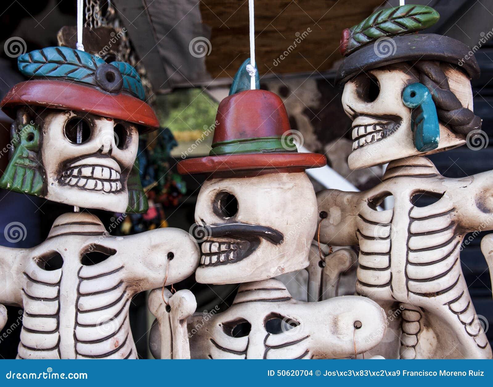 Calaveras Mexicanas 1 Stock Photo Image Of Teotihuacán 50620704