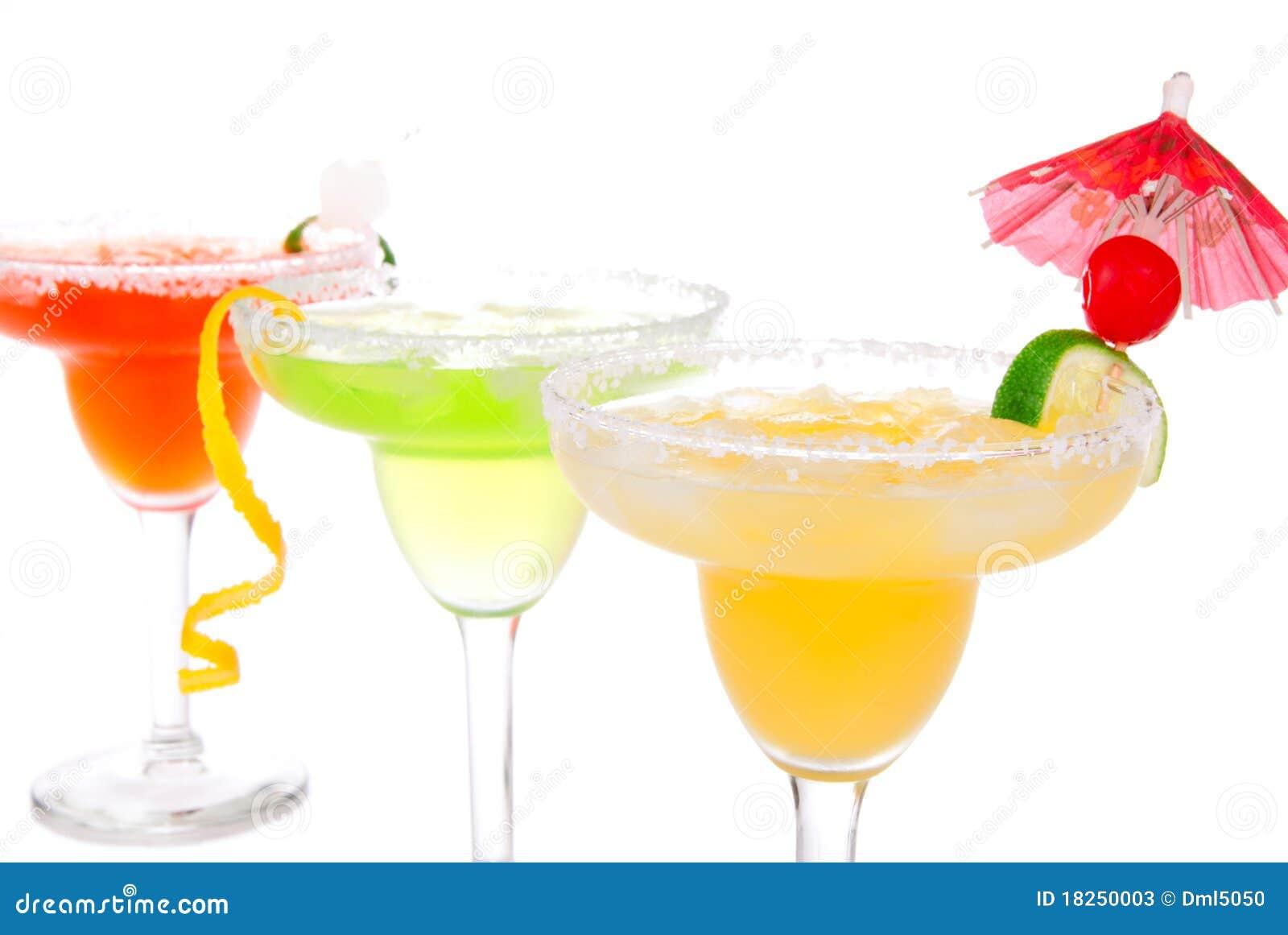 Calce, composizione nei cocktail dei Margaritas della mela