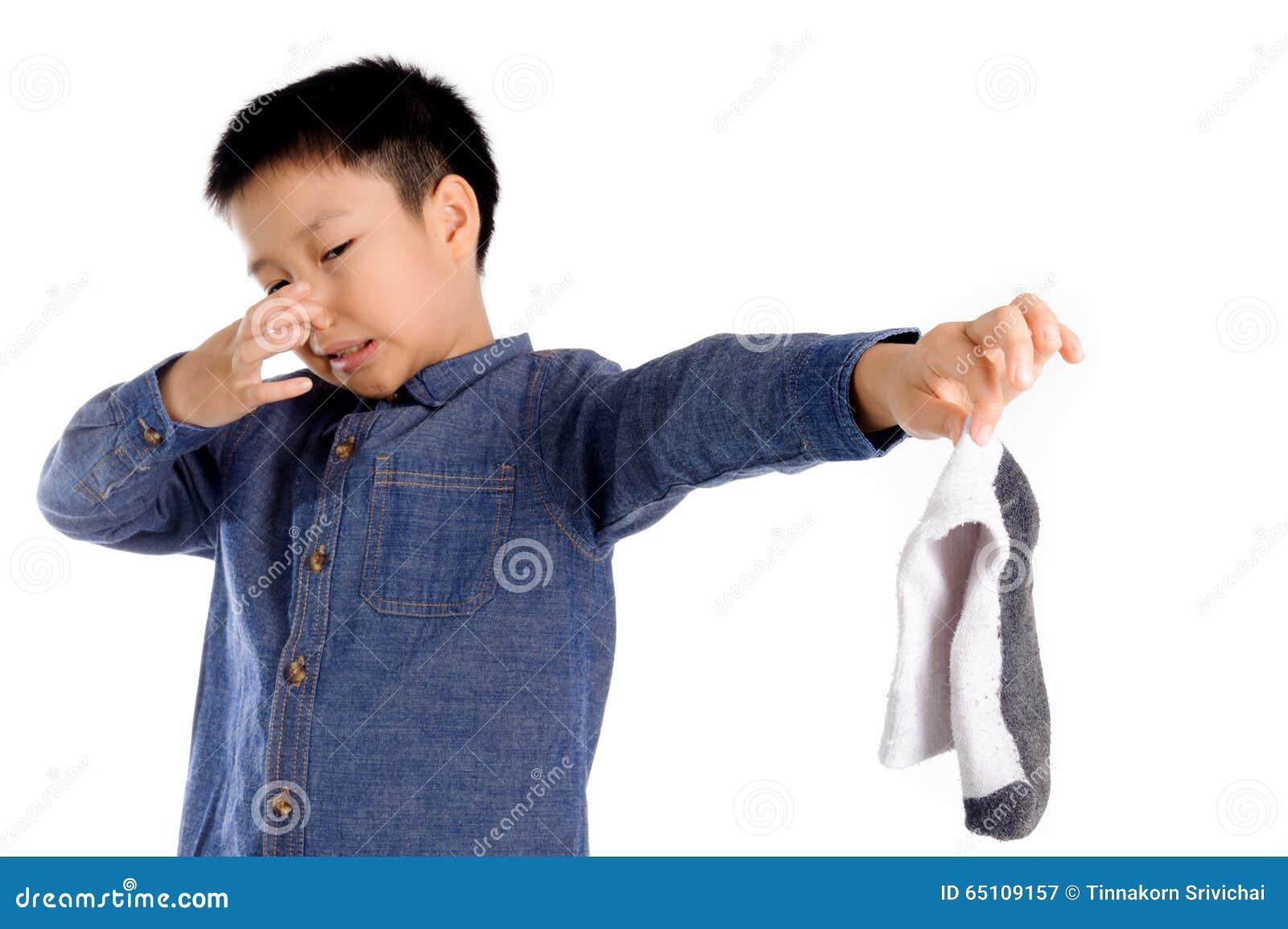 Calcetín del mún olor