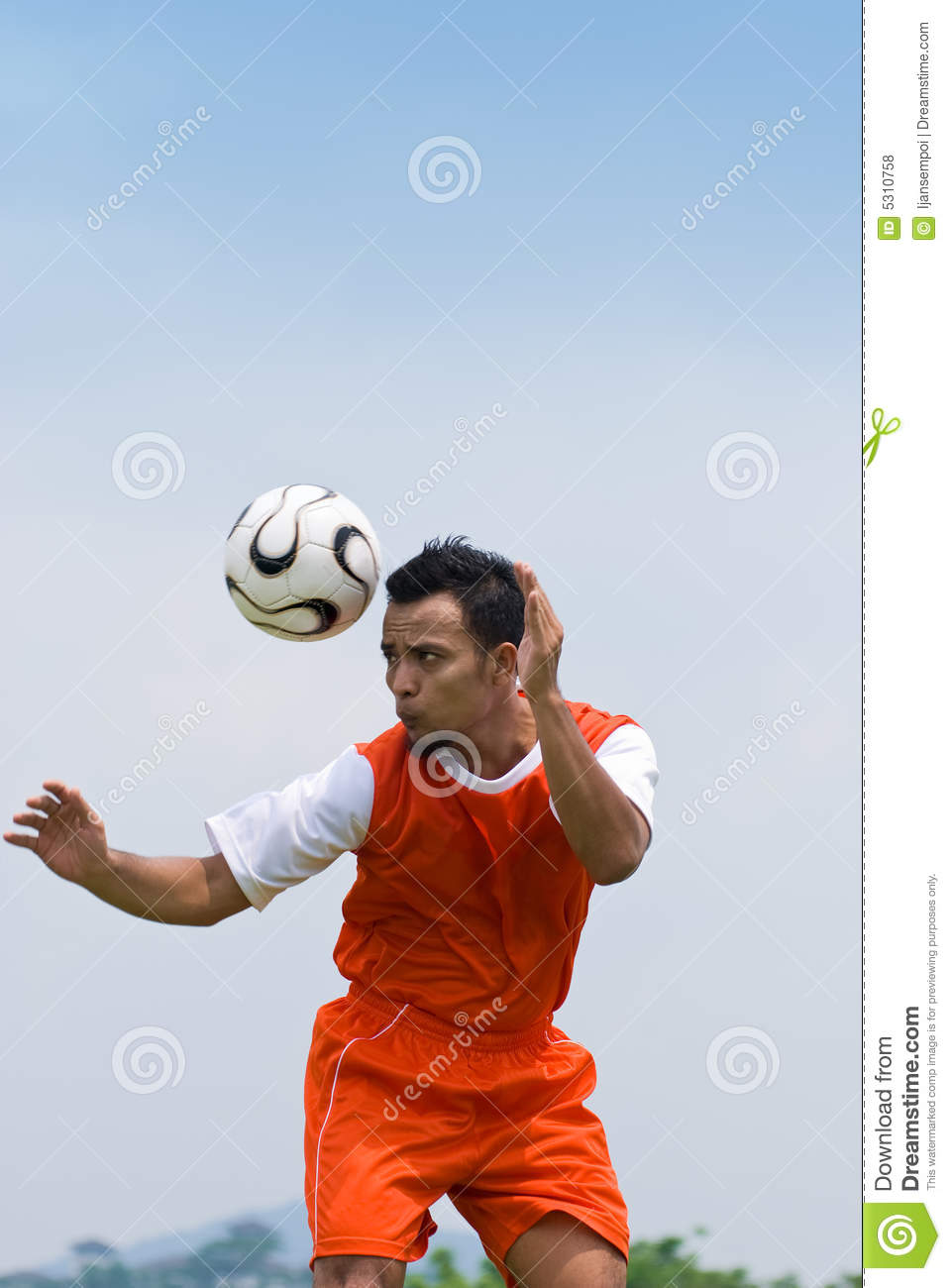 Download Calcio fotografia stock. Immagine di obiettivo, football - 5310758