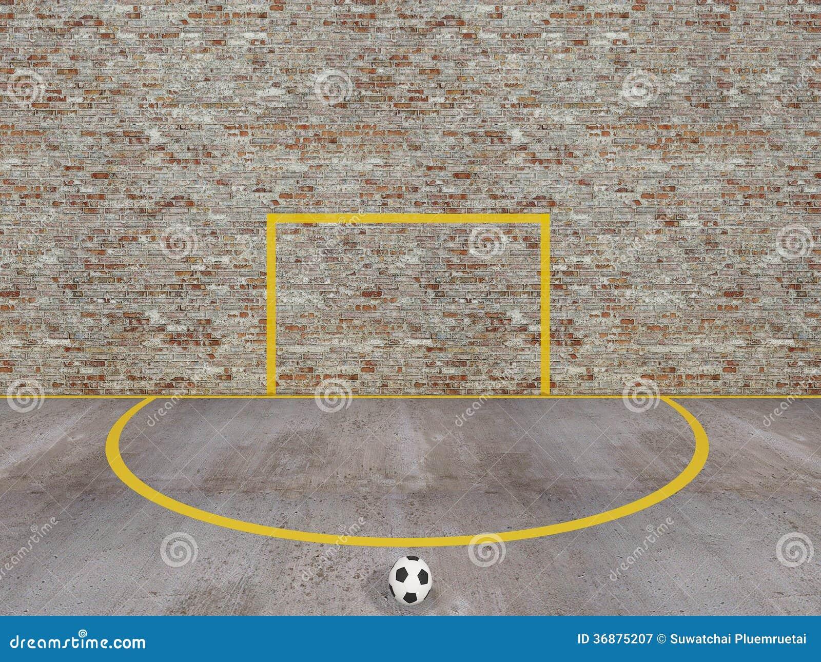 Download Calcio Della Via, Corte Urbana Di Calcio Illustrazione di Stock - Illustrazione di forward, difesa: 36875207