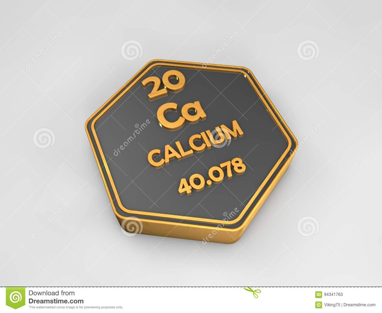Calcium ca chemical element periodic table hexagonal shape stock download calcium ca chemical element periodic table hexagonal shape stock illustration illustration of urtaz Gallery