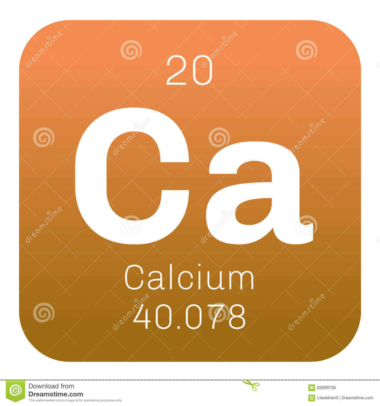 calcium element information - HD 1300×1390