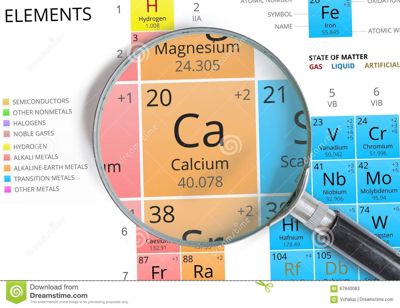 Calcium symbol ca element of the periodic table zoomed stock element of the periodic table zoomed stock illustration illustration urtaz Gallery