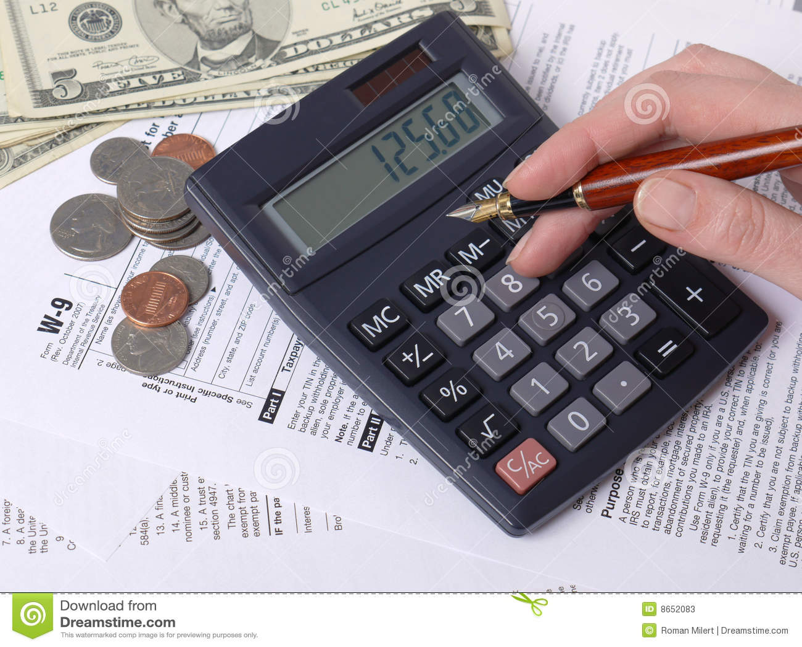 Calcul d impôts