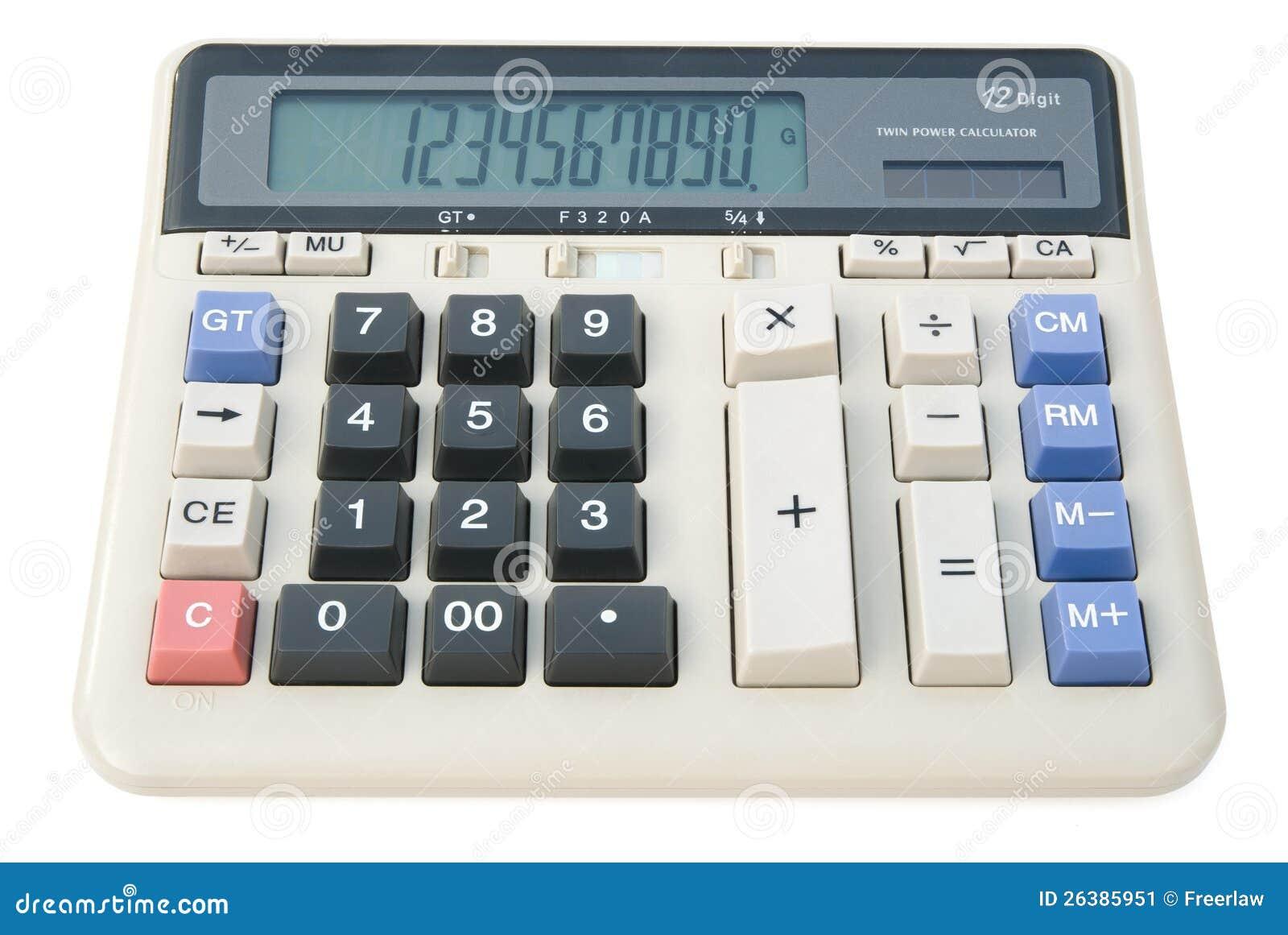Calculadora de 12 dígitos