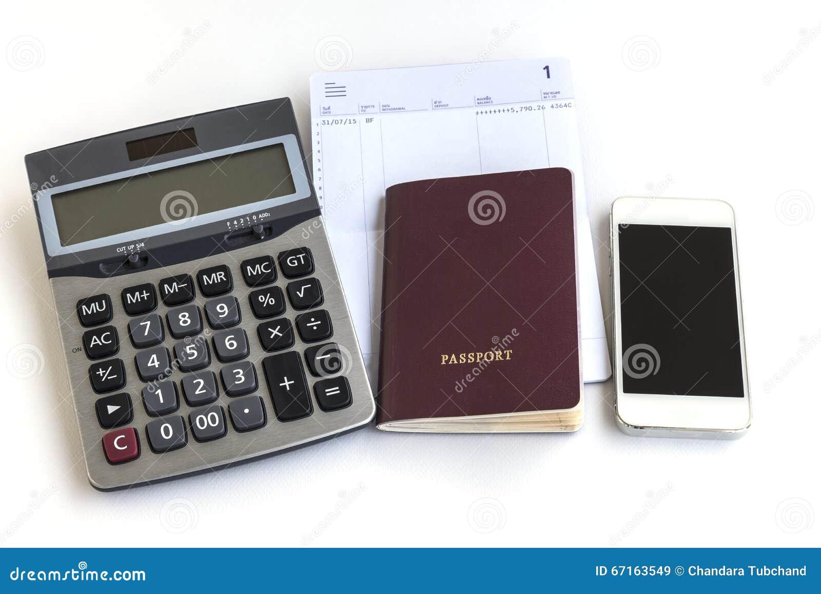 Calculadora del tel fono del pasaporte y libreta de banco for Calculadora ahorro