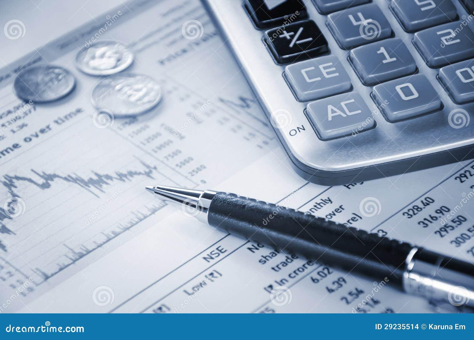 Download Calculadora e gráfico foto de stock. Imagem de gráfico - 29235514