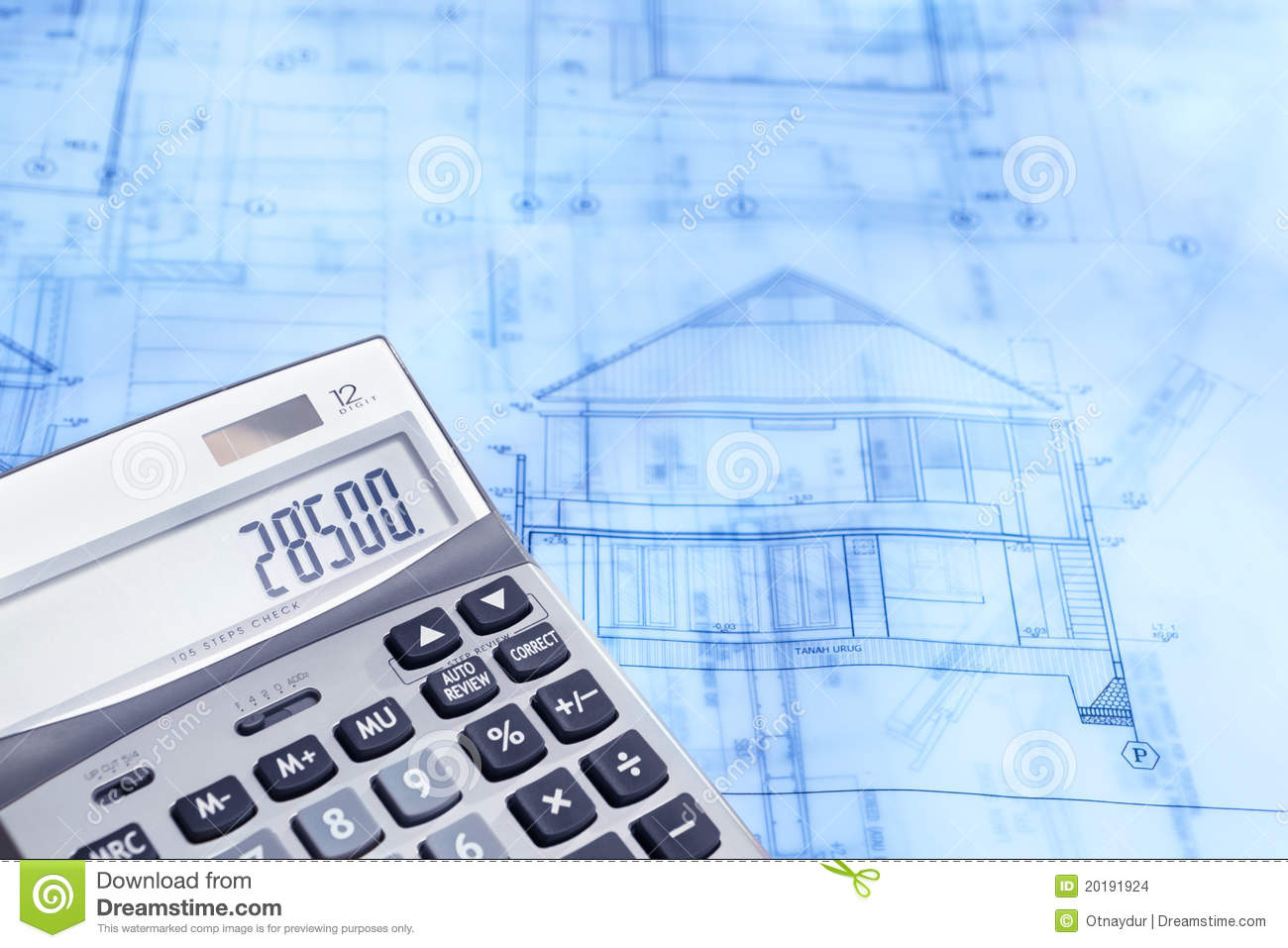 Calculation of construction stock images image 20191924 for Blueprint estimator