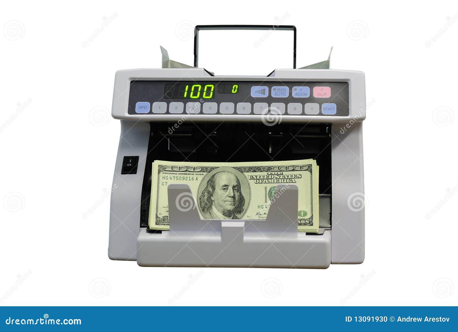 Calculation of money