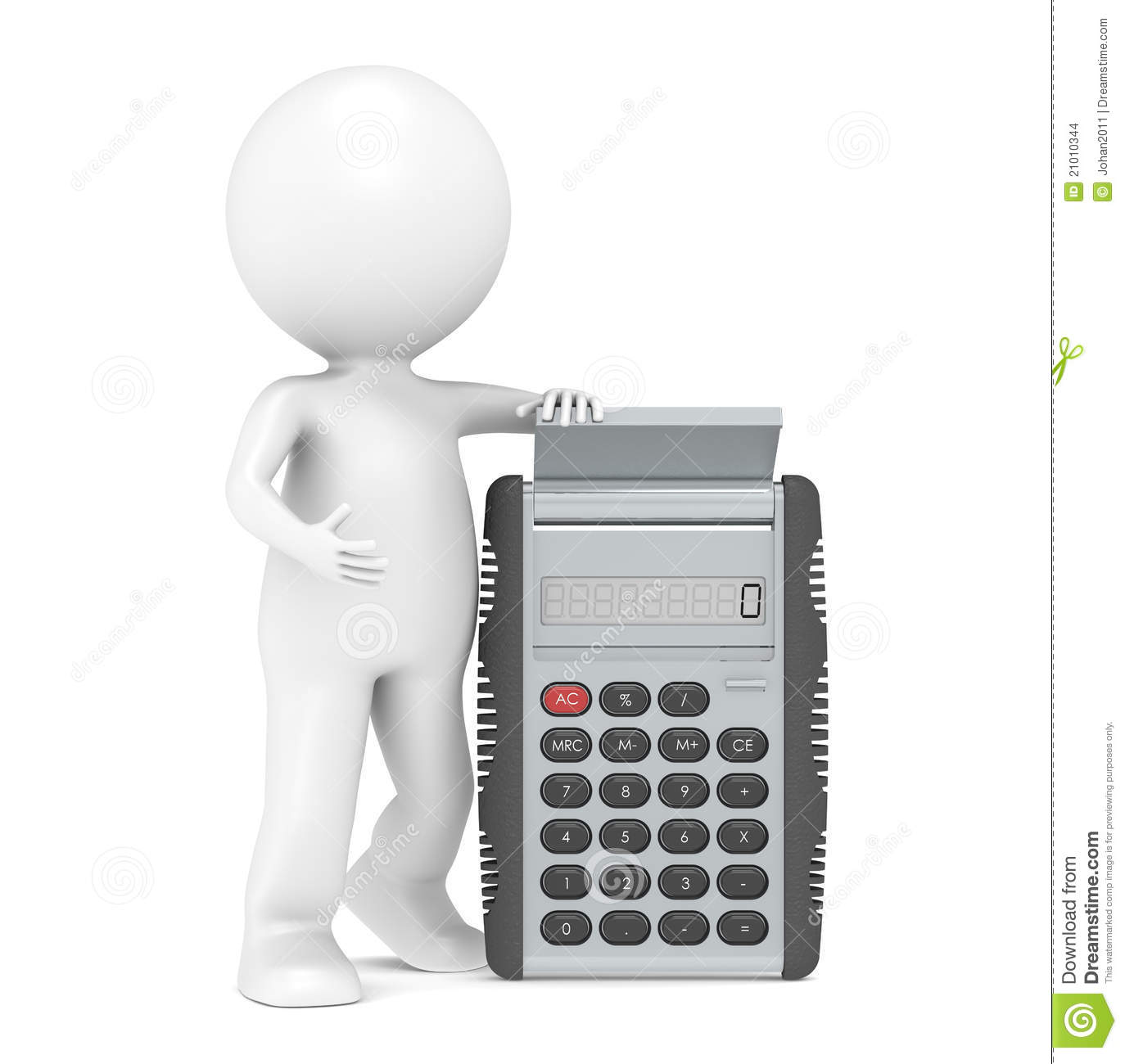 Calculator Stock Images Image 21010344