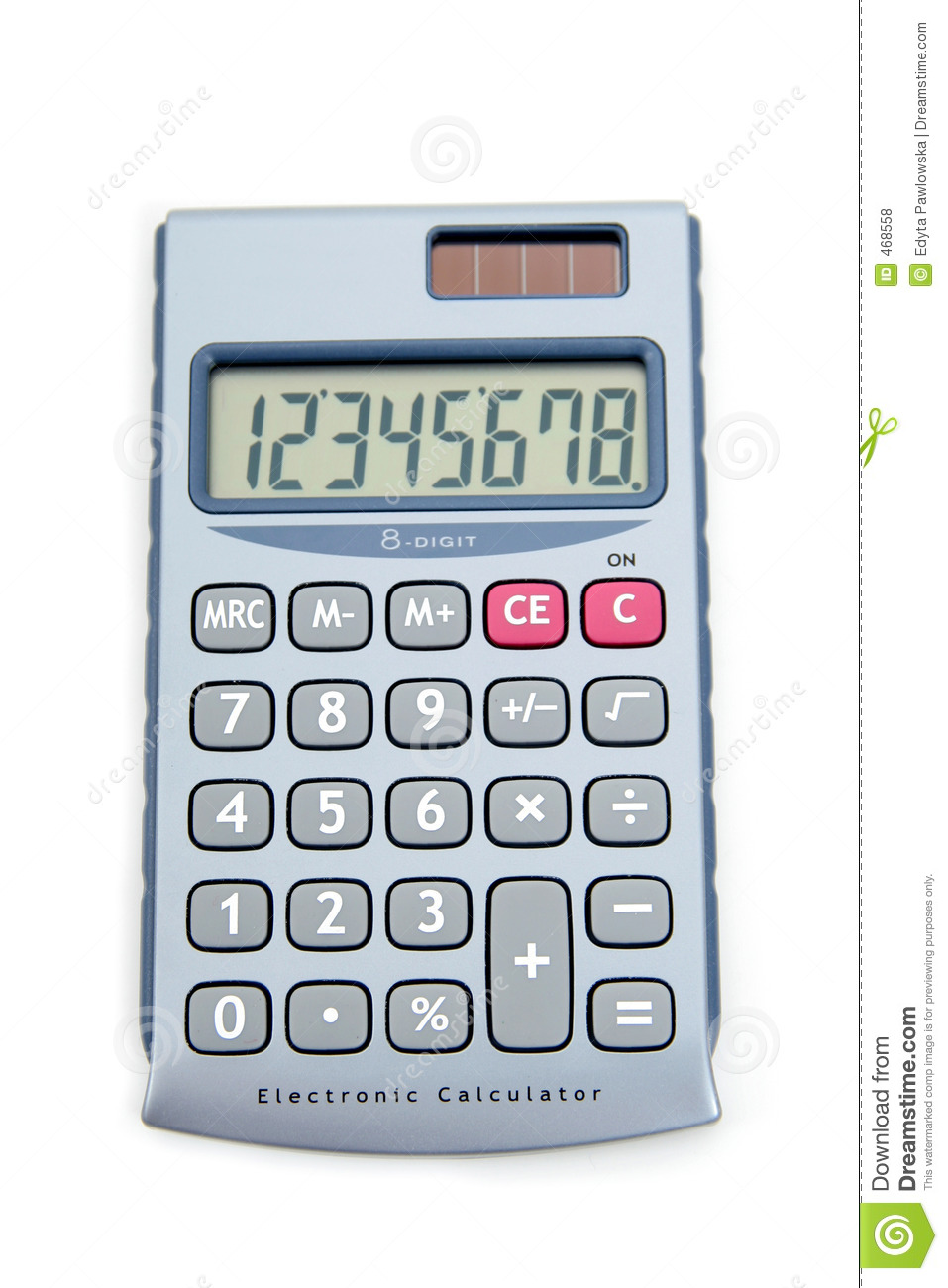 Download Calculator stock photo. Image of objects, nobody, supplies - 468558