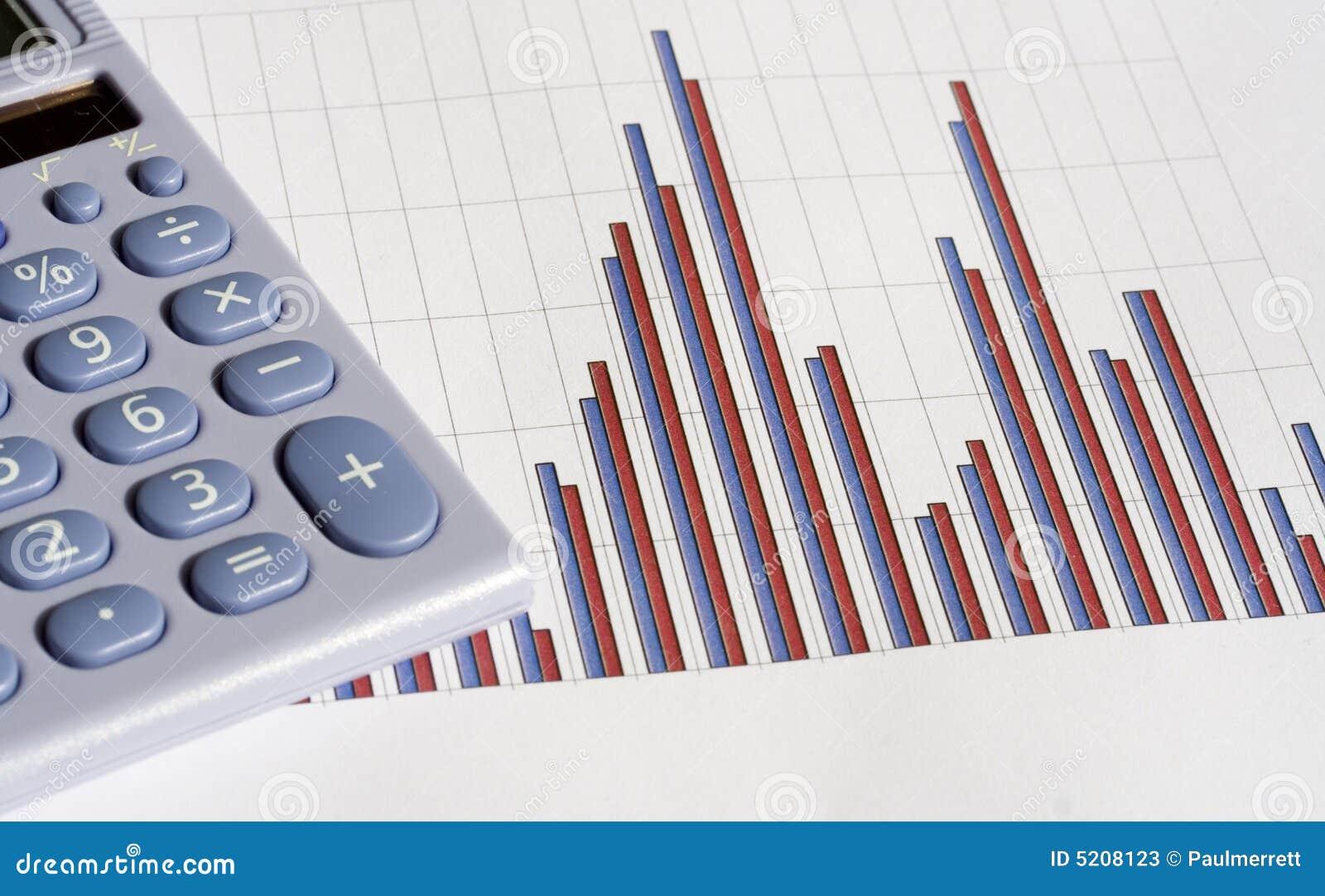 Calculator and bar chart stock image image of office 5208123 calculator and bar chart ccuart Image collections