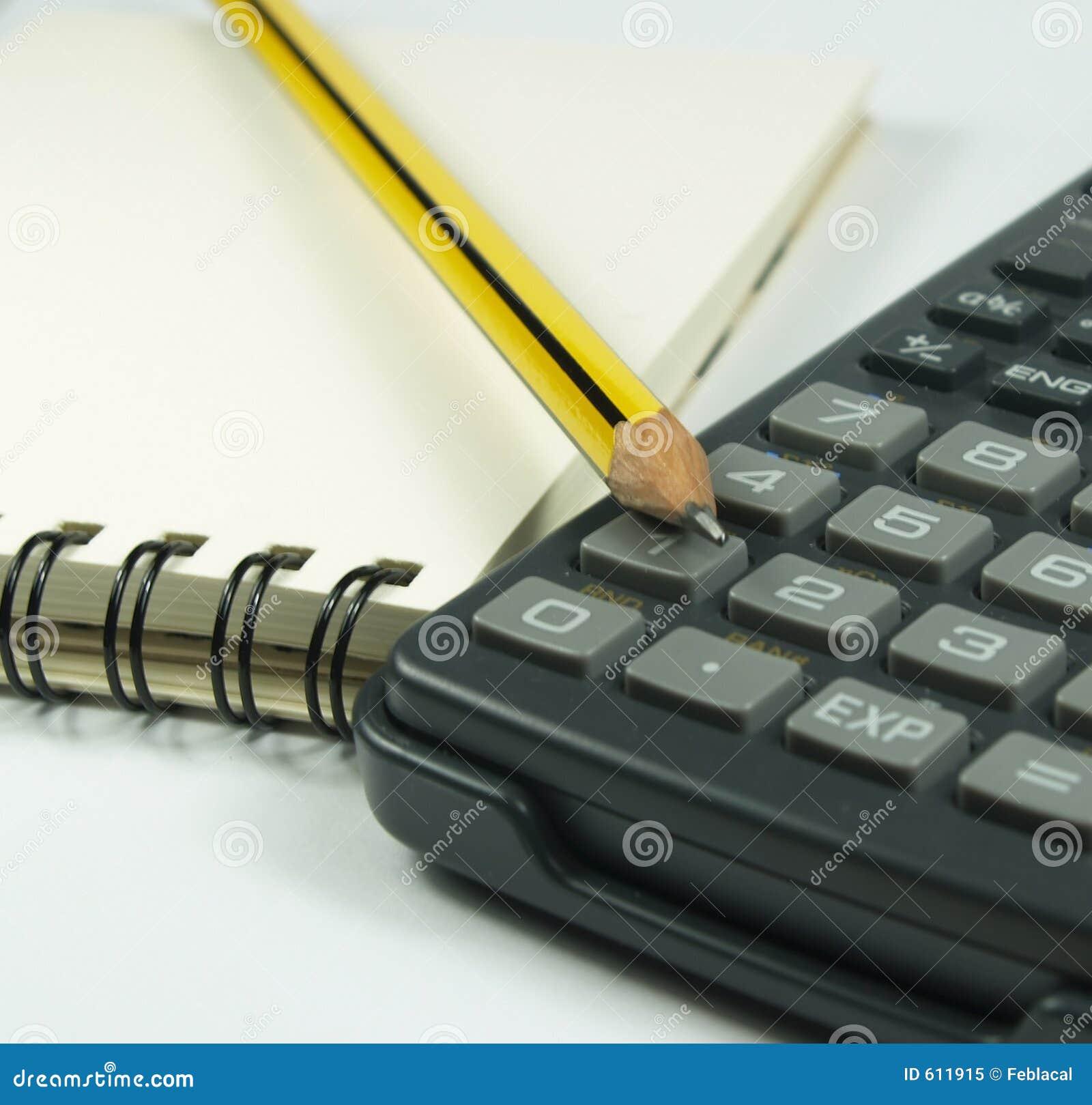 Calculator en blocnote