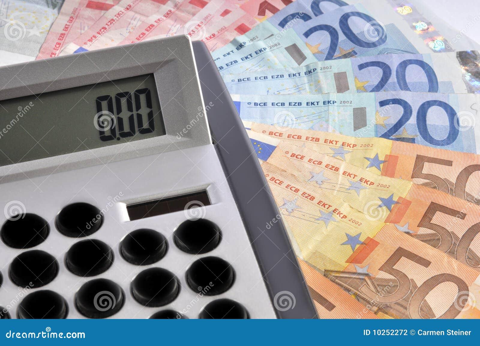 Calculator en geld