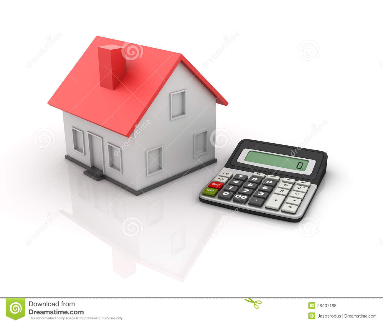 Calculator and house royalty free stock photos image for Building a home calculator