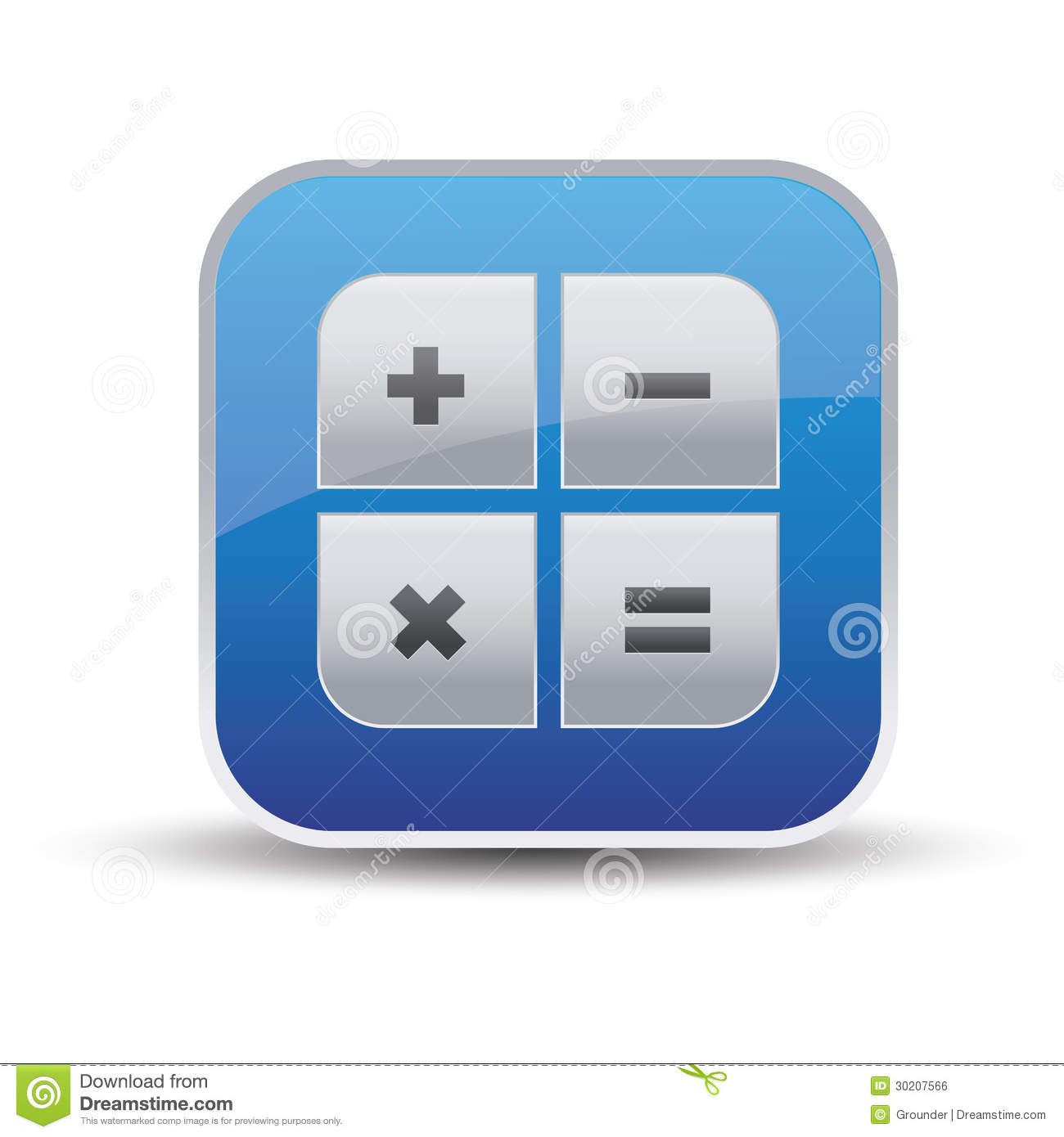 ... Icon - Vector App Royalty Free Stock Image - Image: 30207566: www.dreamstime.com/royalty-free-stock-image-calculator-icon-vector...