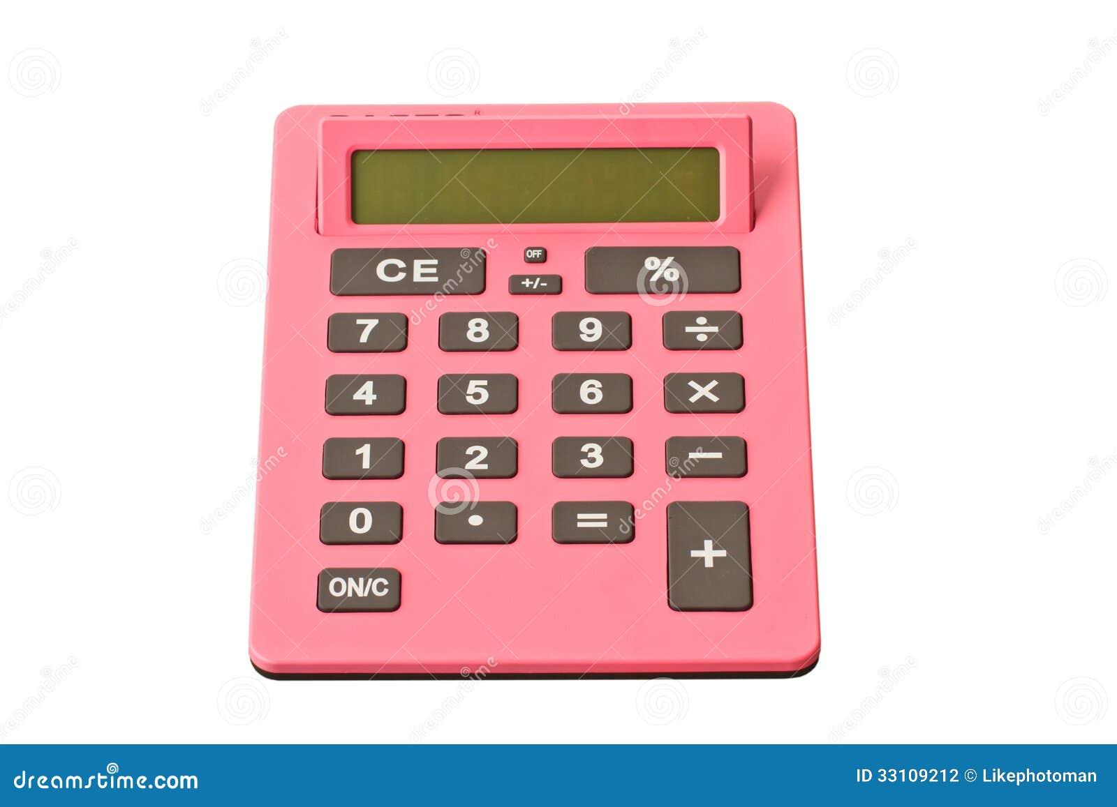 Calculator Stock Photography Image 33109212