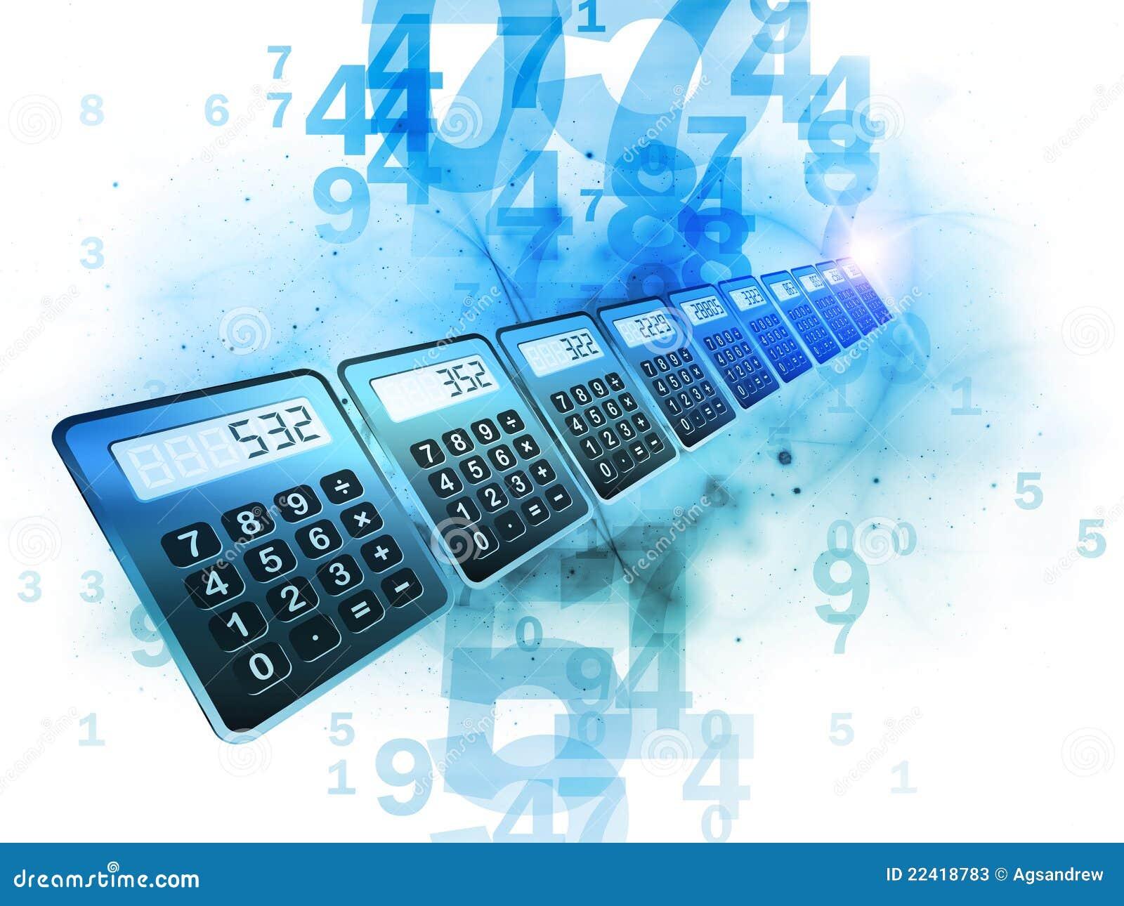 Calculator Perspective Stock Photos Image 22418783