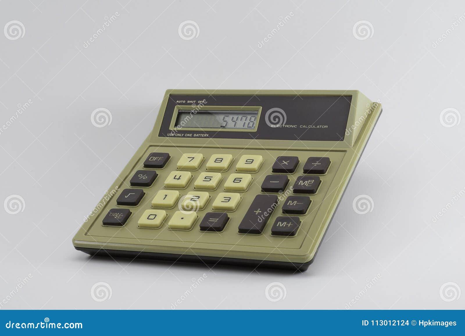 Calculatrice classique de base de Digital