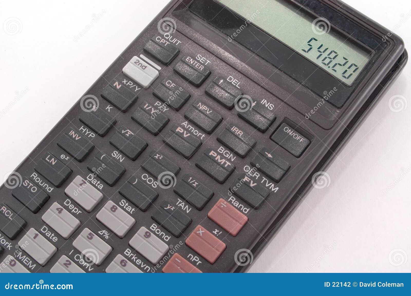 Calculatrice portative