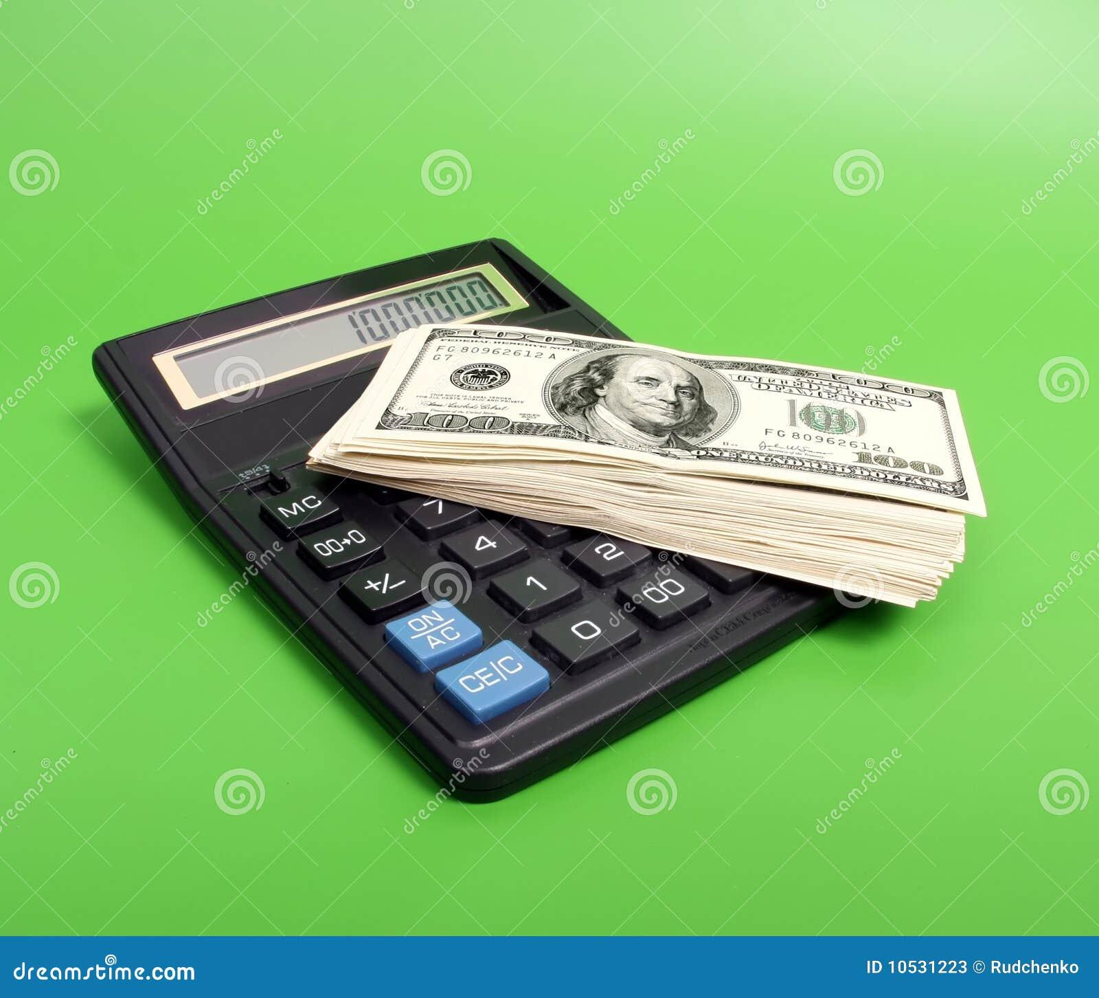 Calcule e dinheiro