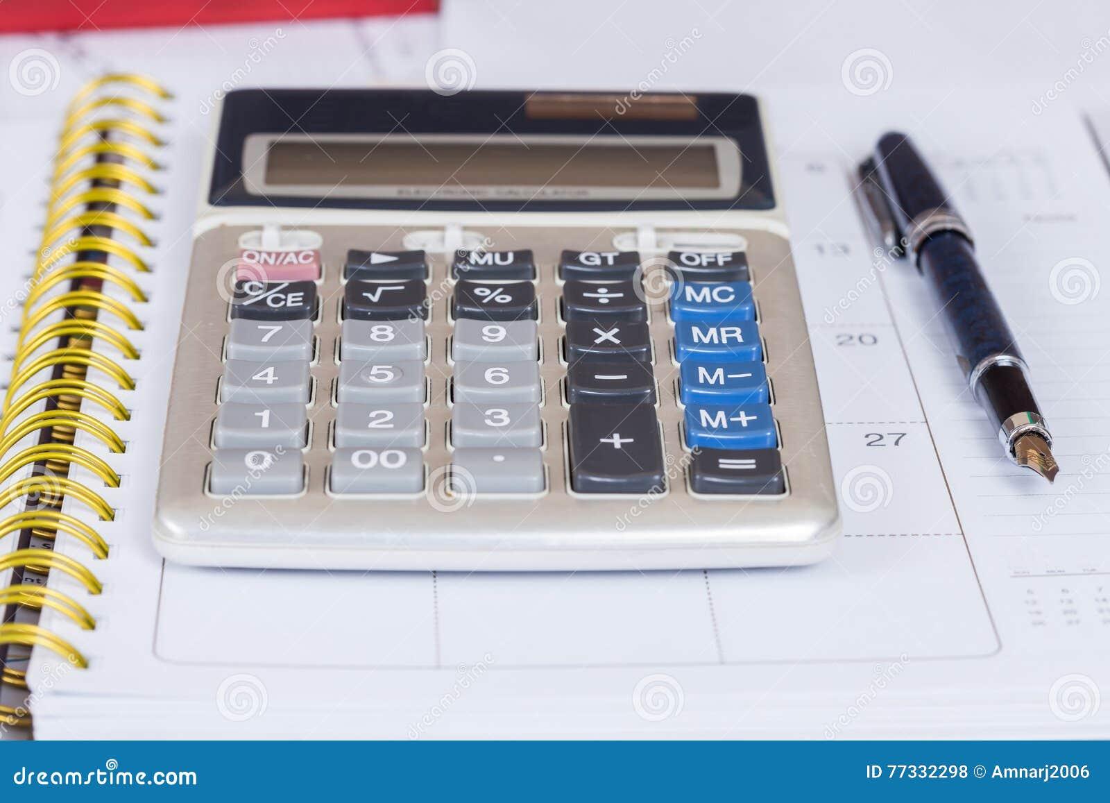 Calcule no livro do calendário