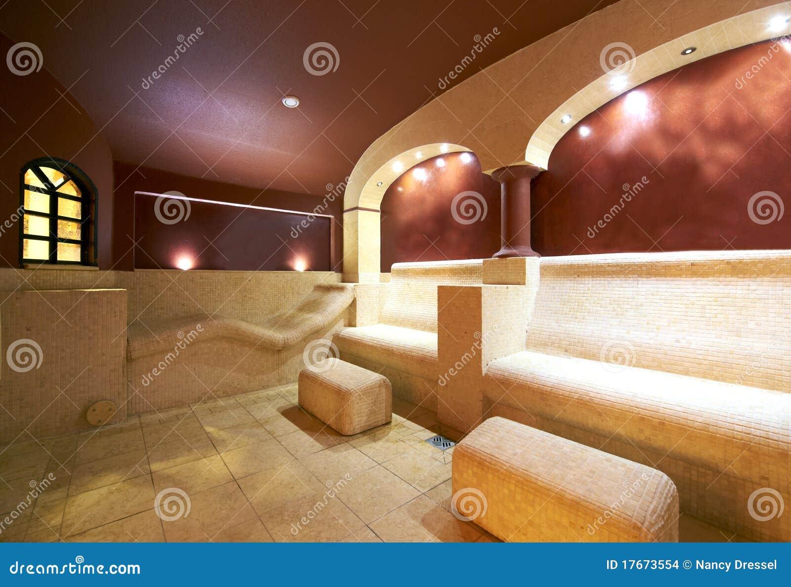 Caldarium Aroma Steamroom Sauna Stock Images Image 17673554