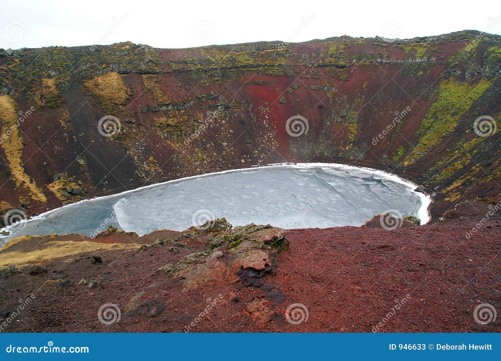 Caldeira volcanique