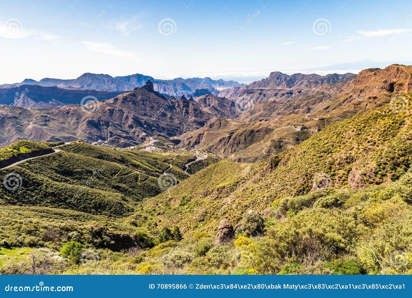 Caldera av Tejeda - Gran Canaria, Spanien