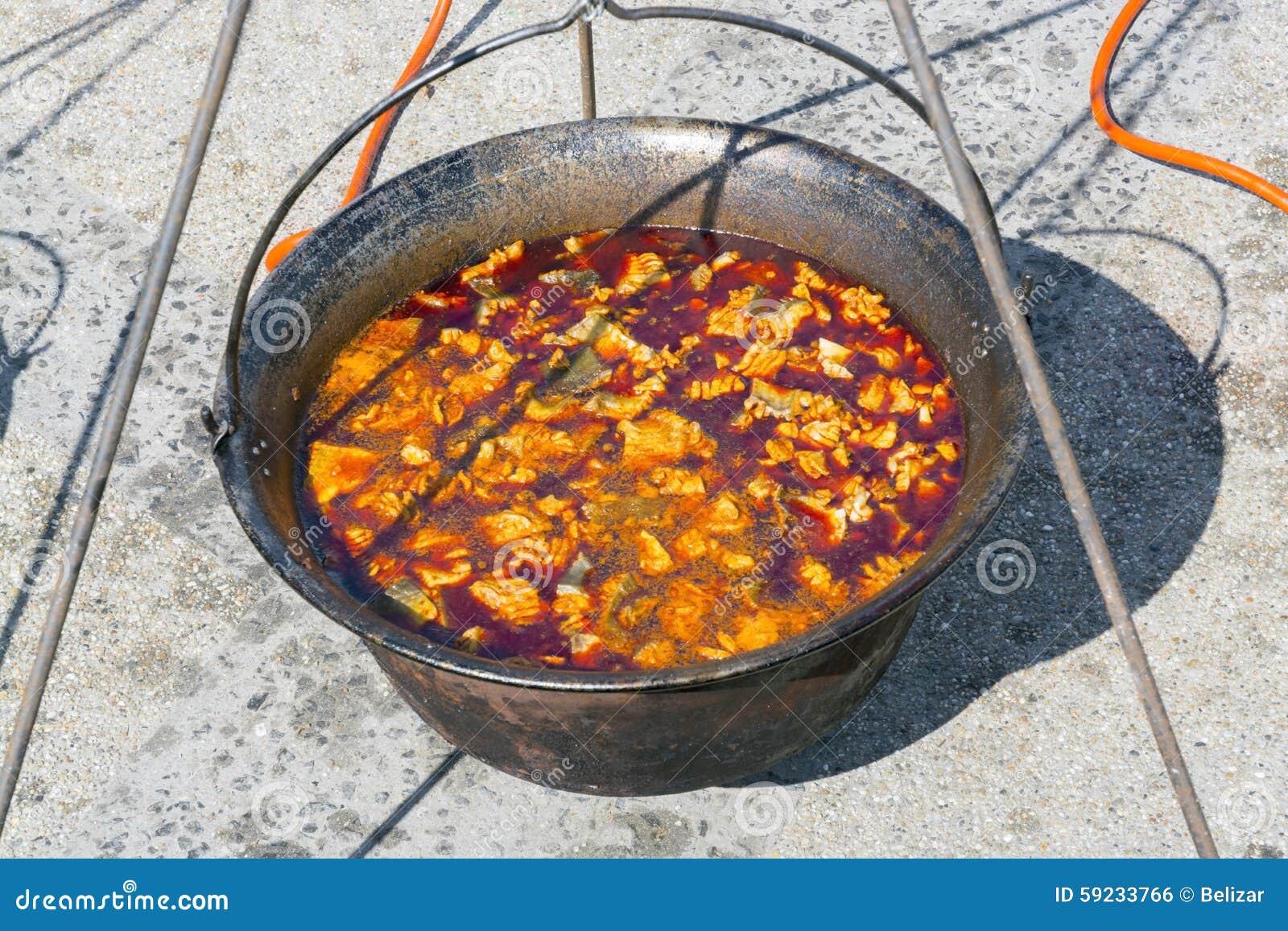 Download Caldera De La Sopa De Los Pescados Foto de archivo - Imagen de pescadores, paprika: 59233766