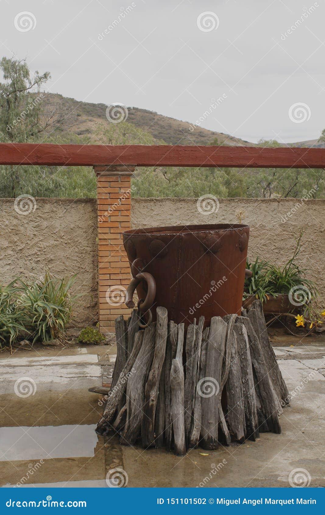 Caldera del castigo de un museo en Guanajuato